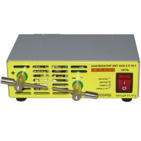 анализатор аккумуляторов потенциостат гальваностат АСК2.5.10.1