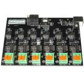 Многоканальный USB регистратор данных МРД420.6Г. Напряжение от 0…1.1 до 0…420В. Гальваническая развязка.